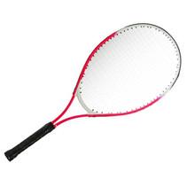 tennisracket junior 25 inch aluminium rood/wit