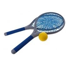 tennisset spinnenweb 21 cm blauw