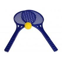 Soft Tennisset 53 cm blauw