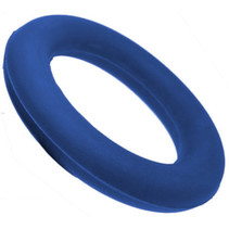 werpring junior 15 cm rubber blauw