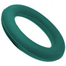 werpring junior 15 cm rubber groen