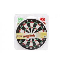 dartbord met 6 pijlen 38 cm