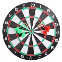 dartbord 40,5 cm met 6 pijlen