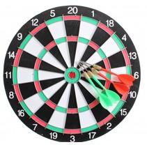 dartbord 28,5 cm met 4 pijlen