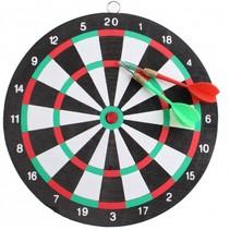 dartbord 24 cm met 2 pijlen