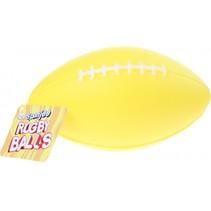 rugbybal geel 15 cm