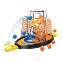 basketball shoot 38 cm zwart/oranje