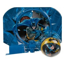basketbalring met bal Batman blauw 29 x 22 cm