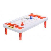 ice airhockeytafel junior 50 x 29 x 12 cm rood/wit