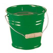 emmer met handvat 1,5 liter groen