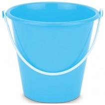 emmer blauw 19 x 18 cm