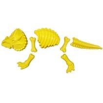 zandvormen Dino 7-delig geel