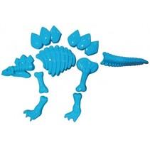 zandvormen Dino 7-delig blauw