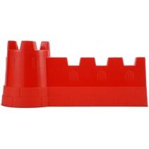 kasteelmuur zandspeelgoed rood 40 x 19 cm