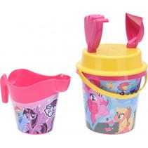 strandset roze  'my little pony' 5-delig