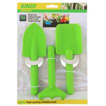 tuinierset junior 3-delig groen