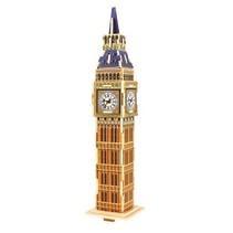3D-puzzel Big Ben hout 20,5 cm 24-delig