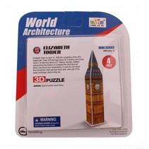 3D-Puzzel Elizabeth Tower klein 6-delig bron