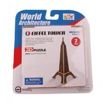 3D-Puzzel Eiffeltoren klein 6-delig brons