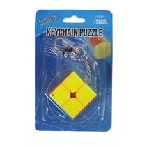 sleutelhangerpuzzel kubus 4 cm