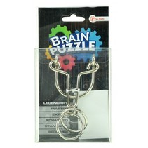 Brain Puzzle hersenkraker legendary zilver/zwart