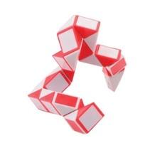 puzzel Magische Slang rood/wit
