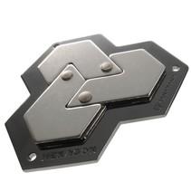 breinbreker Cast Hexagon zilver
