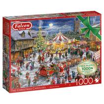 puzzel The Christmas Carousel 37 cm karton 1000 stukjes