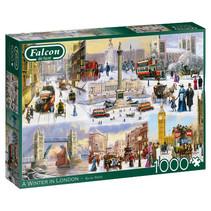 puzzel A Winter In London 37 x 27 cm karton 1000 stukjes