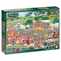 puzzel Summer Music Festival 37 cm karton 1000 stukjes