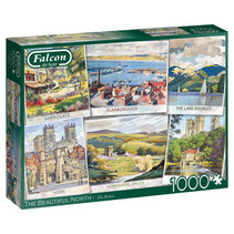 puzzel The Beautiful North 37 x 27 cm karton 1000 stukjes
