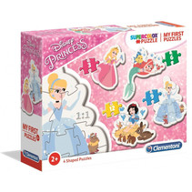 legpuzzel My First Puzzle Princess 4 puzzels