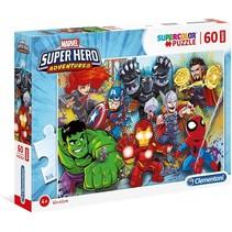 legpuzzel Marvel Super Hero Avengers 60 stukjes