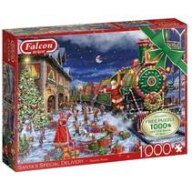 legpuzzel Santa's Special Delivery 2x1000 stukjes