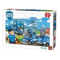 legpuzzel Rescue Team Policeteam 50 stukjes