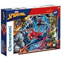 maxi supercolor legpuzzel Spider-man 104 stukjes