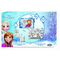 Frozen 2-zijdige puzzel 24 stukjes