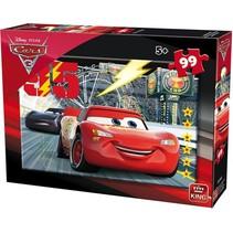 legpuzzel Disney Cars junior karton 99 stukjes