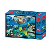 legpuzzel 3D onderwaterwereld 500 stukjes