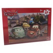 legpuzzel Disney Cars 24 stukjes