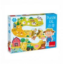 puzzel boerderij 17 stukjes