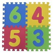 vloerpuzzel met cijfers 9-delig