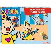 puzzel hout Bumba muziek 5 stukjes