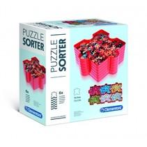 puzzelsorteerder rood 6 stuks