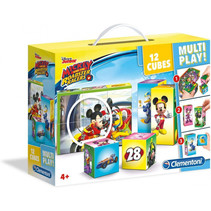 blokkenpuzzel Cubi 12 Multiplay - Disney jr 12 blokken
