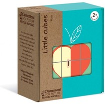 blokkenpuzzel Little Cubes fruit 6-delig