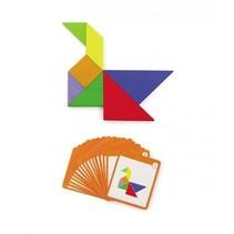 magneetpuzzel 55-delig multicolor