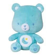 knuffelbeertje rammelaar pluche jongens blauw 16 cm