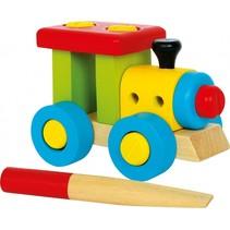 trein multicolor 12 cm