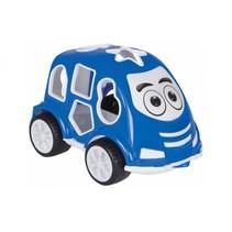 vormendoos auto blauw junior 21 cm